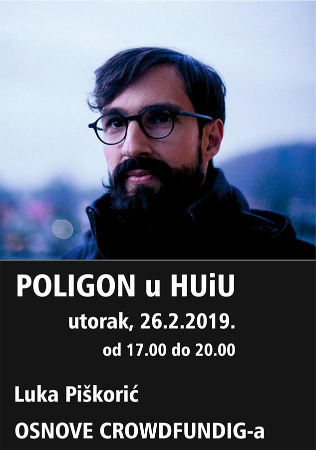 Poligon u HUiU – osnove crowdfundinga / Luka Piškorič