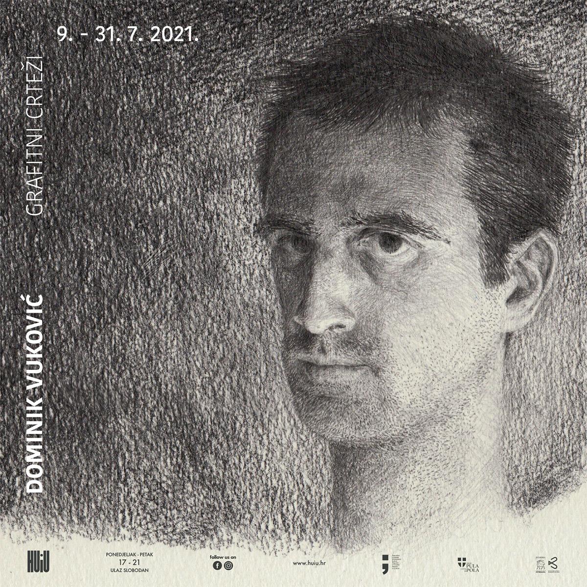DOMINIK VUKOVIĆ - Grafitni crteži